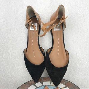 Dolce Vita pointy toe ankle strap flats